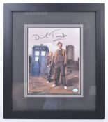 DOCTOR WHO - DAVID TENNANT & BILLIE PIPER SIGNED PHOTOGRAPH