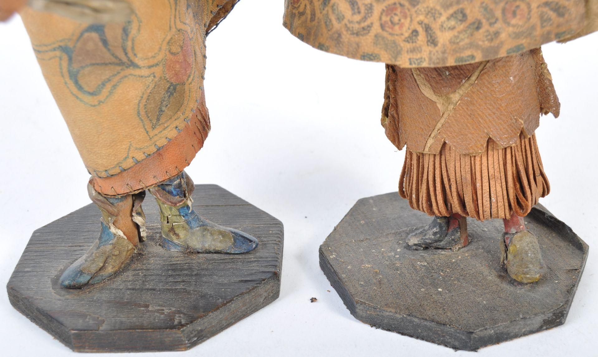 Los 915 - UNUSUAL PAIR OF 19TH CENTURY TUDOR STYLE WOODEN JE