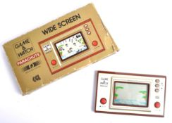 VINTAGE NINTENDO GAME & WATCH HANDHELD GAMES CONSOLE