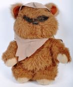 ORIGINAL VINTAGE KENNER STAR WARS EWOK WICKET PLUSH TOY