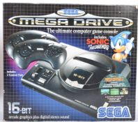 VINTAGE SEGA MEGA DRIVE GAMES CONSOLE BOX (BOX ONLY)
