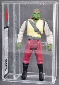 VINTAGE STAR WARS GRADED LAST 17 BARADA ACTION FIGURE