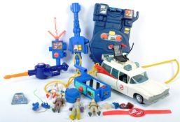 COLLECTION OF KENNER THE REAL GHOSTBUSTERS ACTION FIGURES & TOYS