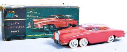 RARE 1965 JR21 THUNDERBIRDS FAB 1 BATTERY OPERATED