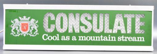 CONSULATE COOL AS A MOUNTAIN STREAM CIGARETTES ADV