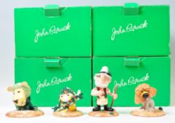 A collection of four boxed Beswick Herbs ceramic c