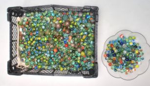A good collection of early 20th Century marbles co