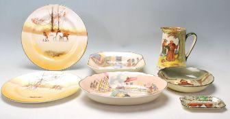 A group of Royal Doulton china series ware to incl