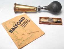 VINTAGE 20TH CENTURY MOTORING CAR RELATED ITEMS