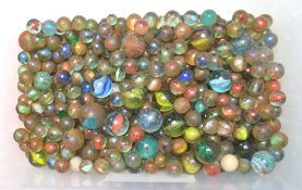 VICTORIAN & 20TH CENTURY MARBLES
