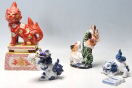 A group of early 20th century oriental Japanese ce