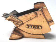NORTON BRASS SCOOP