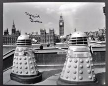 "DOCTOR WHO - DAVID GRAHAM - AUTOGRAPHED 8X10"" PHOTOGRAPH"