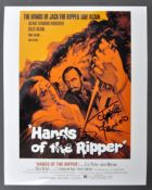 HAMMER HORROR - HANDS OF THE RIPPER - DUAL SIGNED PHOTOGRAPH
