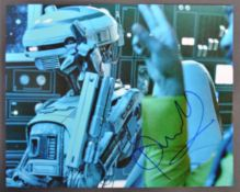 STAR WARS - PHOEBE WALLER-BRIDGE - SOLO- SIGNED PHOTO