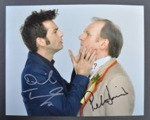 DOCTOR WHO - DAVID TENNANT & PETER DAVISON DUAL SI
