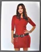 DOCTOR WHO - JENNA LOUISE COLEMAN - AUTOGRAPHED PHOTOGRAPH
