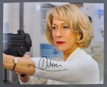 HELEN MIRREN - BRITISH ACTRESS - RED - AUTOGRAPHED