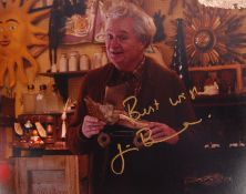 "JIM BROADBENT - ENGLISH ACTOR - SIGNED 8X10"" PHOTO"