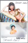 CARRY ON FILMS - AMANDA BARRIE - AUTOGRAPHED PHOTOGRAPHS