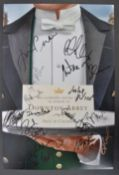 DOWNTON ABBEY THE MOVIE - FULL CAST AUTOGRAPHED POSTER