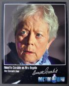 "DOCTOR WHO - ANNETTE CROSBIE - AUTOGRAPHED 8X10"" PHOTOGRAPH"