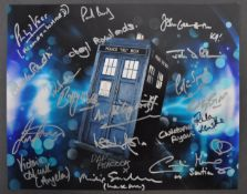 DOCTOR WHO - INCREDIBLE MULTI-SIGNED AUTOGRAPHED PHOTO