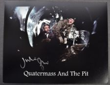 QUATERMASS & THE PIT - JULIAN GLOVER SIGNED PHOTOG