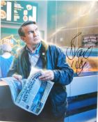 "DOCTOR WHO - BRADLEY WALSH - SIGNED 8X10"" PHOTOGRAPH"