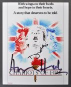 CHARIOTS OF FIRE (1981) - DUAL AUTOGRAPHED PHOTOGRAPH