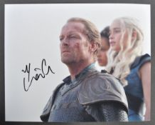 "GAME OF THRONES - IAIN GLEN - AUTOGRAPHED 8X10"" PHOTOGRAPH"