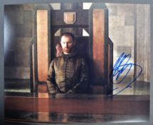 GAME OF THRONES - MARK GATISS - AUTOGRAPHED PHOTOGRAPH
