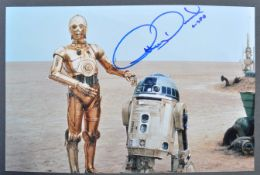 STAR WARS - ANTHONY DANIELS - C3PO - AUTOGRAPHED PHOTOGRAPH