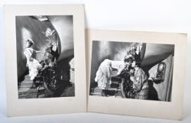 COLLECTION OF ISLA BLAIR - TWO CECIL BEATON SIGNED PHOTOGRAPHS