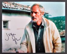 JAMES BOND 007 - JULIAN GLOVER AUTOGRAPHED PHOTOGR