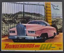 "THUNDERBIRDS - DAVID GRAHAM - AUTOGRAPHED 8X10"" PHOTOGRAPH"