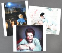 JASON KING - COLLECTION OF AUTOGRAPHED PHOTOGRAPHS