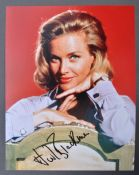 JAMES BOND - HONOR BLACKMAN - PUSSY GALORE SIGNED PHOTO