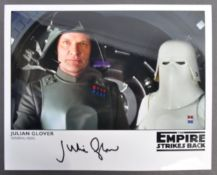 STAR WARS THE EMPIRE STRIKES BACK - JULIAN GLOVER AUTOGRAPHED PHOTOGRAPH