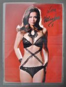 FROM THE COLLECTION OF VALERIE LEON - SIGNED PUBLICITY PHOTO