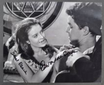 HAMMER HORROR - THE KISS OF THE VAMPIRE - DUAL SIGNED 8X10""