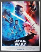 "STAR WARS - THE RISE OF SKYWALKER - SIGNED 11X14"" PHOTOGRAPH"