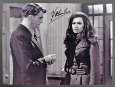 FROM THE COLLECTION OF VALERIE LEON - EARLY SIGNED PHOTOGRAPH