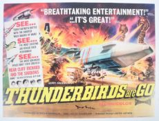 "THUNDERBIRDS ARE GO - BEAUTIFUL AUTOGRAPHED 16X20"" POSTER"