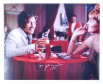 "PETER WYNGARDE - JASON KING - AUTOGRAPHED 8X10"" PHOTOGRAPH"