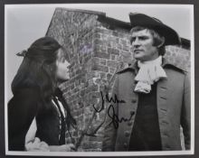 WUTHERING HEIGHTS (1970) - JULIAN GLOVER SIGNED PHOTOGRAPH
