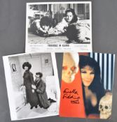 """CARRY ON FILMS – FENELLA FIELDING – AUTOGRAPHED 8X10"""" PHOTO"""