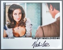 "VALERIE LEON MEMORABILIA COLLECTION – SIGNED 8X10"" PHOTO"