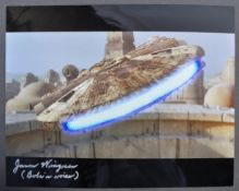 STAR WARS - JASON WINGREEN - BOBA FETT VOICE - SIGNED PHOTO
