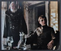 GAME OF THRONES JULIAN GLOVER AUTOGRAPHED PHOTOGRAPH